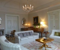 Villa Imperatore: Living room