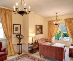 Villa Malakoff: Living room