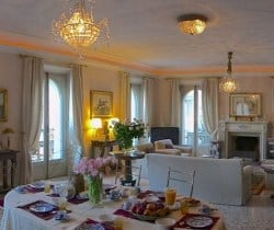 Villa Riccardi: Living and dining area