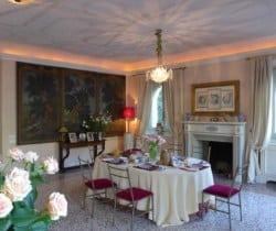Villa Riccardi: Dining area