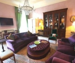 Villa Sibilla: Living room