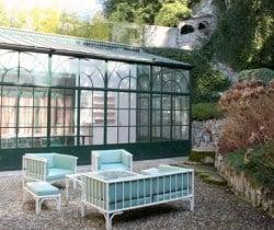 Villa Sibilla: Veranda