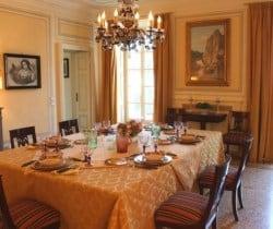 Villa Sibilla: Dining room