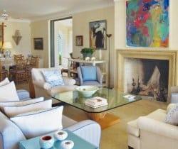 Villa Astra-Living room