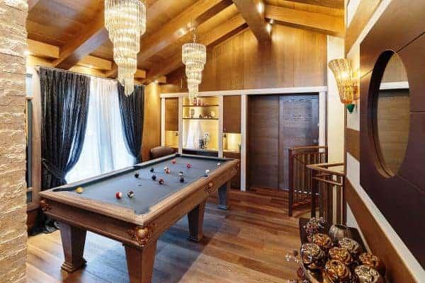 Chalet Castello-Games room