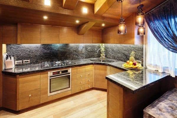 Chalet Castello-Kitchen