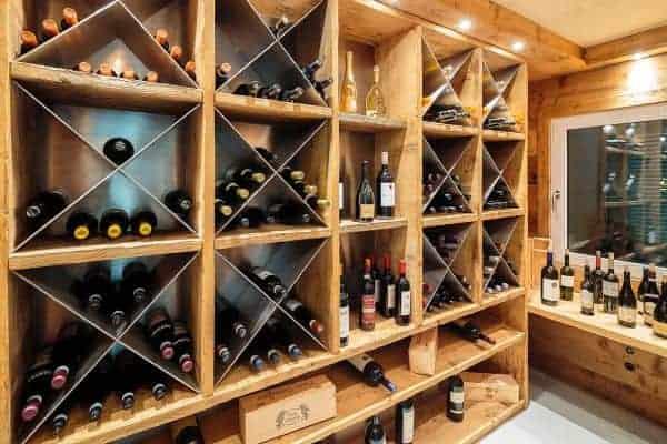 Chalet Castello-Wine Cellar