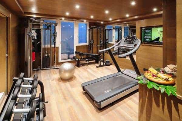 Chalet Castello-Fitness room