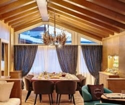 Chalet Castello-Dining area