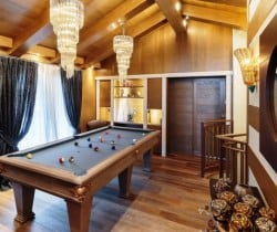 Chalet Castello-Games room