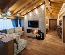 Chalet Castello-Living area