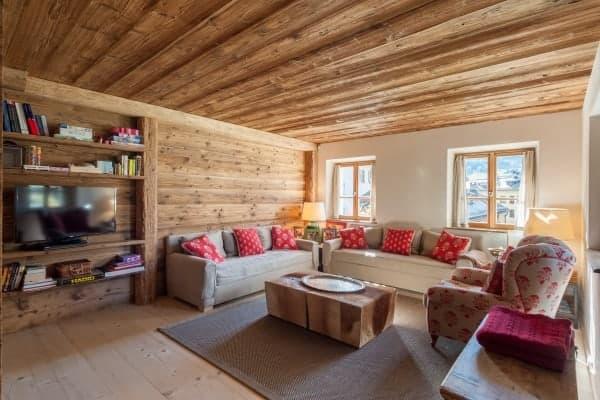 Chalet Krystal-Living area