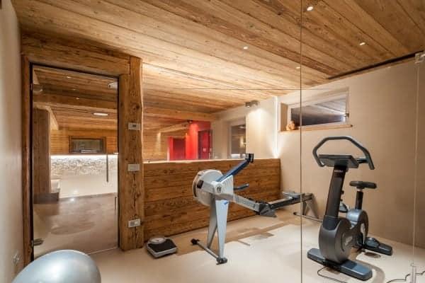 Chalet Krystal-Fitness area
