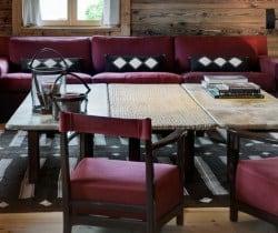 Chalet Krystal - Living area
