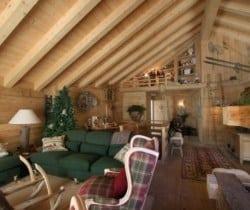 Chalet Maso: Living room