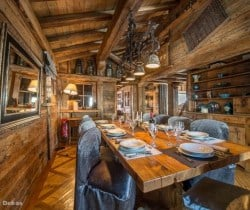 Chalet Arctica: Dining area