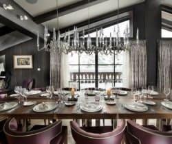 Chalet Kurma: Dining area