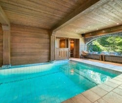 Chalet Tovet-Swimming pool