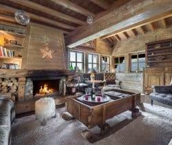 Chalet Tovet-Living area