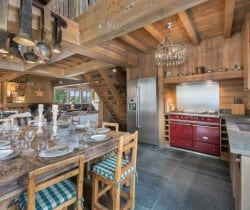 Chalet Tovet-Open kitchen