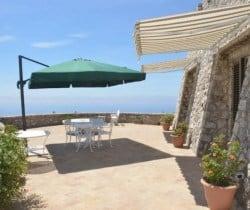 Villa Adriano-Terrace