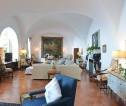 Villa Adriano-Living room