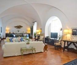 Villa Adriano-Living room