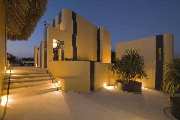 Villa Palapa - Outside view