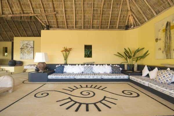 Villa Palapa - Living room
