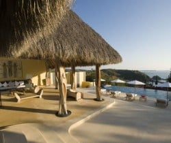 Villa Palapa- Outside view & pool