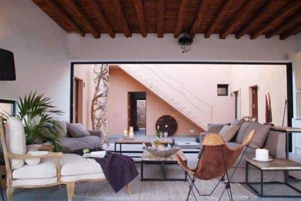 Villa Anindita: Living area