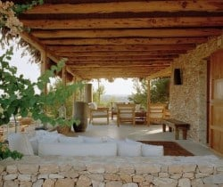 Villa Rayan: Outdoor chill out area
