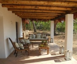 Villa Thula - Outdoor chill out area