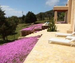 Villa Gazules: Terrace