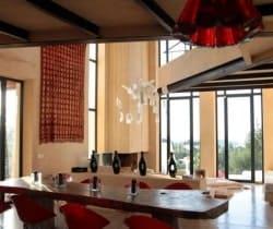 Villa Gazules: Dining area