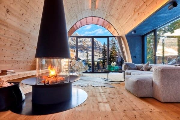 Chalet Coco-Living area
