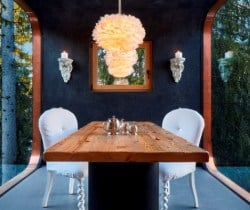 Chalet Coco-Dining area