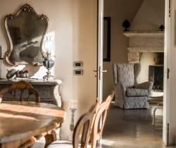 Villa Giardino-Dining area