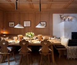 Chalet Astro: Dining room