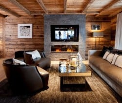 Chalet Astro: Fireplace