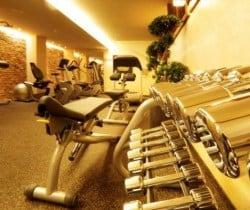 Chalet Bering: Fitness room