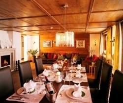 Chalet Bering: Dining room