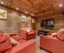 Chalet Chopine: Cinema room