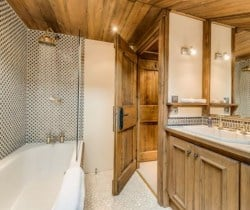 Chalet Chopine: Bathroom