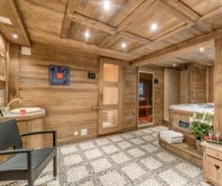 Chalet Chopine: Spa area