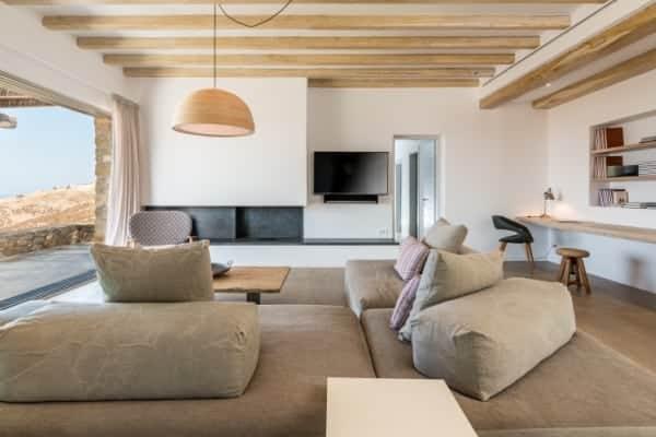 Villa Asteria-Living room