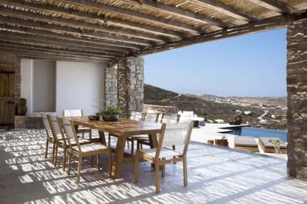 Villa Asteria-Al fresco dining area