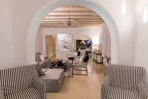 Villa Calantha-Living area