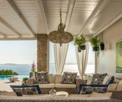 Villa Damara-Outdoor chill out area