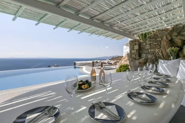 Villa Sapphira-Al fresco dining area
